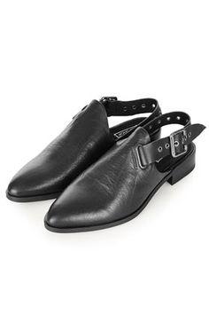 KIKO Black Strap Shoes