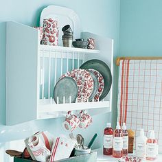 Country Plate Rack White  (Stonewall Kitchen)