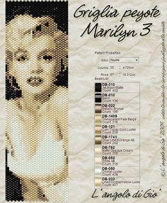 L' angolo creativo di Giò: Schemi Marilyn in Pdf