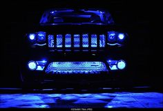 Lights in Grand Cherokee WK Grille Chevy Trucks Older, Old Ford Trucks, Lifted Chevy Trucks, Jeep Truck, Pickup Trucks, Jeep Wk, Jeep Srt8, Jeep Grand Cherokee Laredo, Jeep Grand Cherokee Limited