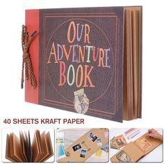 Style Scrapbook, Photo Album Scrapbooking, Travel Scrapbook, Diy Handmade Album, Our Adventure Book, Travel Album, Beading Tools, Themes Photo, Bff Gifts