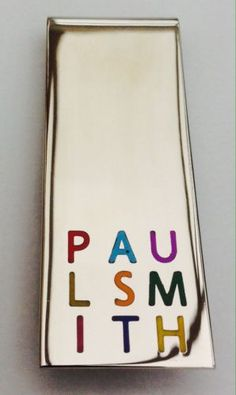 Paul #smith money clip #multi-coloured #brand new, View more on the LINK: http://www.zeppy.io/product/gb/2/162352148651/
