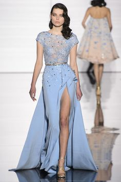 A look from Zuhair Murad's spring 2015 couture collection. Photo: Imaxtree