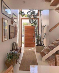 Home Design Decor, Dream Home Design, My Dream Home, Home Interior Design, Home Decor, Minimal House Design, Minimal Home, Small House Design, Tropical House Design