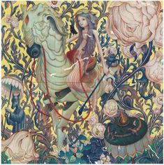 Featured Artist James Jean #painting #drawing
