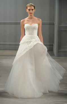 Monique Lhuillier 2014 Bridal Spring/Summer Collection
