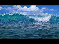 Get the full length 1hr 17min video tutorial at http://learn.muraljoe.com In this video, Joe works with acrylics and shows you how he paints crashing waves, ocean water, sea foam, and what happens with water on a beach!