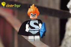 """Syndrome: """"And when I'm old and I've had my fun, I'll sell my inventions so that everyone can be superheroes. *Everyone* can be super! Lego Disney, Donald Duck, Inventions, Disney Characters, Fictional Characters, Fun, Fantasy Characters, Lol, Funny"""