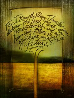 Jeremiah 29 11 Wall Art jeremiah 29:11 #hope | hope reflected | printed words | quotes