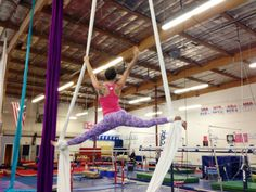 Rad way to work out - silks aerial performance - I need to try this!!
