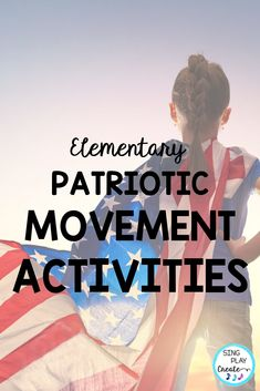 Patriotic Creative Movement and Rhythm Activities will give your music class elementary students activities to connect movement and music, learn beginning rhythms (ta and ti-ti), experience body percussion, and play instruments all in one amazing patriotic inspired bundle. #singplaycreate #musiced #elementarymusiceducation #veteransdaymusic, #musicedveteransdaylessons, #creativemovement #movementlessons #creativemovementlessons #veteransdaymusiclessons #patrioticmovementactivities