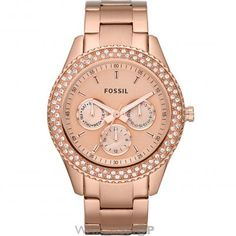 Ladies Fossil Stella Watch ES3003 {$159.94}