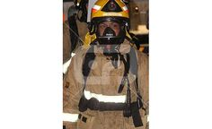 Tira Katene at the Fire Fighters Stair Climb For Leukemia and Blood Cancer.