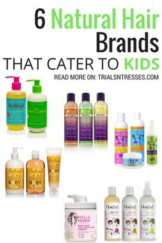 6 natural hair brands that cater to kids