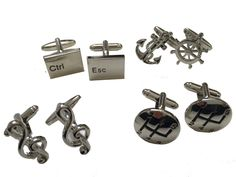 Mens novelty #cufflinks musical notes, car gears, computer #keys, #anchor & wheel,  View more on the LINK: http://www.zeppy.io/product/gb/2/152293602050/