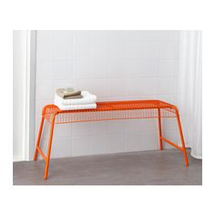 VÄSTERÖN Bench, in/outdoor IKEA The bench is durable and easy to care for, as it is made of powder-coated steel.