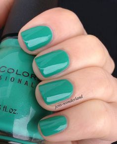 Sinful Colors: Rise and Shine-I have this and use it often, such a fun color and a great, long-lasting yet cheap brand of polish. Walgreens!