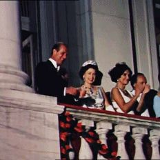 """misshonoriaglossop: """" November 1968 Queen Elizabeth II and Prince Philip, Duke of Edinburgh ending their tour through Brazil with a reception and samba. Royal Queen, King Queen, Celebrity Babies, Celebrity Photos, Celebrity Style, Jackson, Her Majesty The Queen, The Duchess, Victoria"""