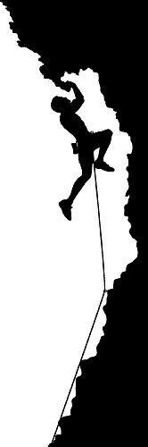 Rock Climbing Wall Sticker Decal - Sports Silhouette Decoration Mural - 18 in. Black TheVinylGuru,http://www.amazon.com/dp/B00BBGGJXY/ref=cm_sw_r_pi_dp_ERKRsb1N7TGK69SZ