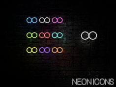 #flickr #neon #icons #iconsPack #flickrNeonIcon  https://gum.co/EyAl