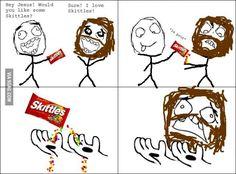 Skittles - 9GAG