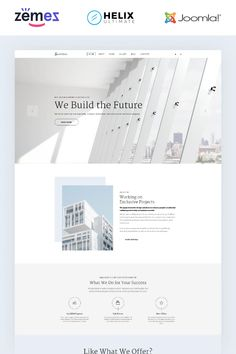 You need a special website if you want to impress your customers and create an atmosphere of trust. Especially when it comes to such specific business as Architecture Agency, Architecture Design, Security Logo, Singles Sites, Web Design Software, Joomla Templates, Change Image, Web Design Inspiration, Website Template