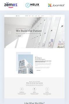 Architeca - Architecture Agency Multipage Stylish Joomla Template #86175