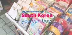 We're not souvenir people but we ended up bringing back a good haul of souvenirs from South Korea. Here are our favorite beauty product souvenirs we bought