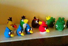 Model magic fun with Angry birds.