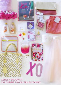 Ashley Brooke's 2015 Valentine Favorites Giveaway! | Ashley Brooke Designs