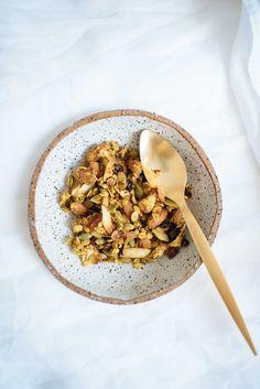Turmeric and Ginger Granola-1