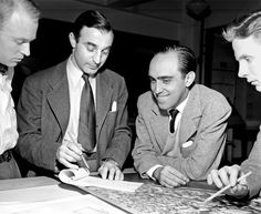 The UN joins the world in celebrating the life of Brazilian architect Oscar #Niemeyer, a key figure in the design and building of #UNHQ in #NYC. Read full story http://j.mp/TFcKqp     Mr. Niemeyer is shown here, second from right, in 1947 with other members of the #UNHQ design team.