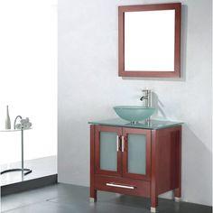 "Found it at Wayfair - Adrian 30"" Single Bathroom Vanity Set with Mirror"