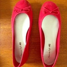 American eagle flats Only worn one time American Eagle by Payless Shoes Flats & Loafers