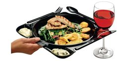 CaterPlate   Disposable Plastic Catering Plate