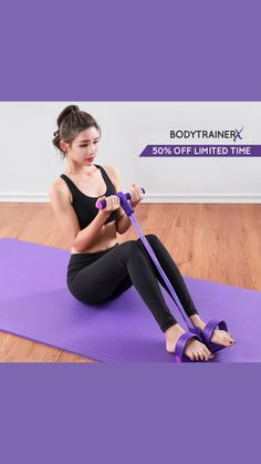 Gym Workout For Beginners, Gym Workout Tips, Fitness Workout For Women, Workout Challenge, Workout Videos, Fitness Tips, Belly Fat Workout, Butt Workout, Body Trainer