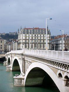 Pont Wilson, Lyon, Rhone-Alpes, France