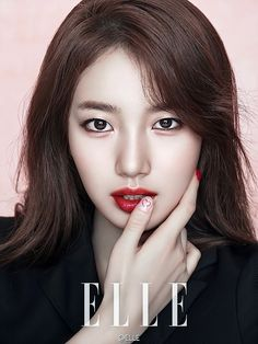 Suzy shows elegant side for Elle magazine Bae Suzy, Suzy Lee, Asian Makeup, Korean Makeup, Kyungsoo, Kai, Miss A Suzy, The Face Shop, Elle Magazine