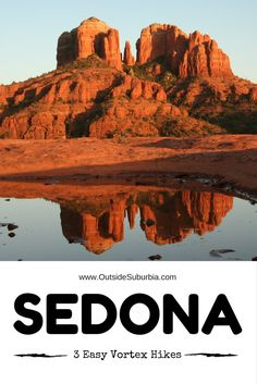 Whether you believe in sacred vortexes and spiritual energies or not Sedona is the perfect place for outdoor hikes, watch spectacular sunsets and recharge. Try these 3 easy Sedona Vortex Hikes on you next visit. Visit Arizona, Sedona Arizona, Arizona Sunrise, Tempe Arizona, Arizona Road Trip, Arizona Travel, Sedona Vortex, Sedona Hikes, Us Travel Destinations