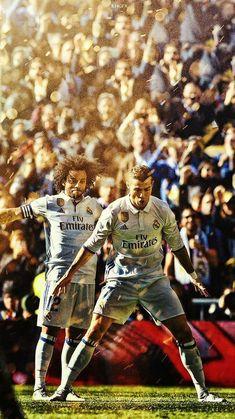 Marcelo & Cristiano Ronaldo #futbolrealmadrid