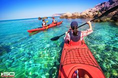 Kayaking. Desktop Background. Click to Download.