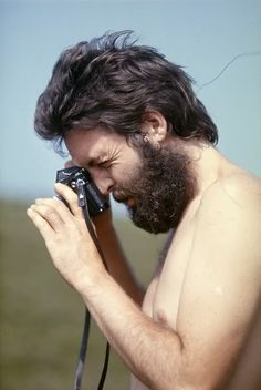 Paul McCartney. Photographed by Linda McCartney.