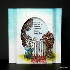 Beccy's Place: Tutorial: Diorama Cards