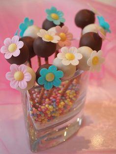 Słodki bukiecik #recipe #cakepops #ciasteczka #panitereska