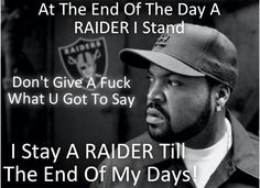 Ice Cube / Part of the Raider Nation