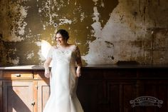 This Dare to Dream Turner Hall Ballroom bride looked gorgeous in her beaded ivory gown, photo by Front Room Studios Bride Photography, Ballroom Wedding, Bride Look, Looking Gorgeous, Becca, Studios, Ivory, Gowns, Wedding Dresses