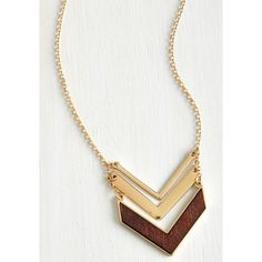 ModCloth Boho Terrace at my Heartstrings Necklace ($15) found on Polyvore featuring jewelry, necklaces, accessories, gold, chevron necklace, heart necklace, boho jewelry, bohemian jewelry and heart jewelry