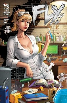 Fly the fall cover from Zenescope