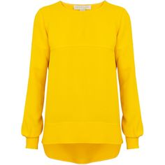 Stella McCartney Romilly Crepe Top ($600) ❤ liked on Polyvore