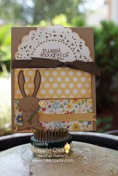 another REALLY cute ippity card... but since I don't have these stamps, could use any! :)